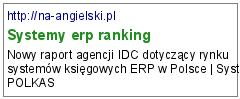 Systemy erp ranking